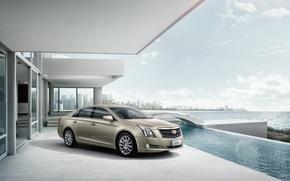 Картинка Cadillac, кадиллак, Sedan, XTS