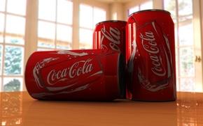 Картинка стол, CocaCola, Бьюти- рендер