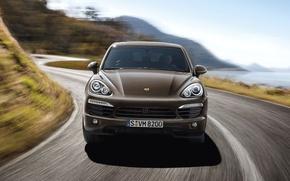 Картинка машина, Porsche, Porsche Cayenne, Порше, Порше Кайен