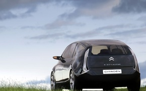 Обои Concept, Облака, Авто, C-Airlounge, Citroën