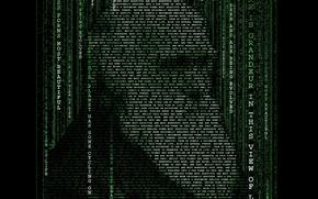 Картинка типографика, матрица, Дарвин