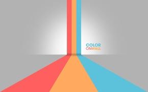 Картинка цвета, линии, полосы, минимализм, lines