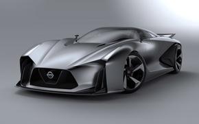 Картинка Concept, Turismo, Nissan, Vision, Front, Gran, 2014