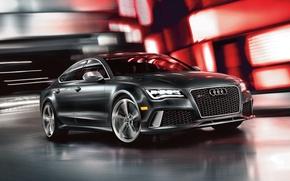 Обои седан, ауди, RS 7, Audi