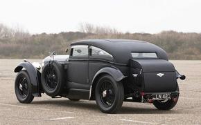 Картинка Bentley, 1931, 1930, Speed 6, Back Side, Bentley Speed Six, Speed Six, Blue Train, Blue …