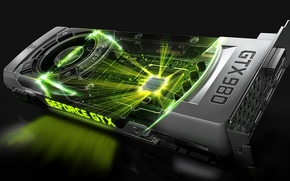 Картинка Nvidia, GeForce, GTX, видеокарта, 980