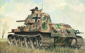Картинка арт, танк, большое, было, различных, количество, для, немецкий, средний, передано, боевого, этих, машин, армией, типах, …