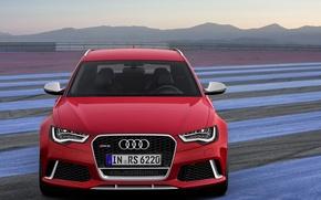 Картинка Audi, Avant, RS6