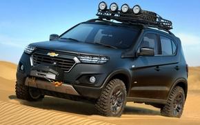 Обои Chevrolet, Concept, Niva