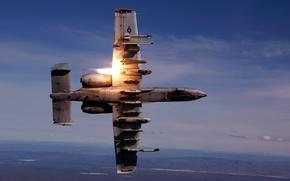 Картинка небо, оружие, скорость, самолёт