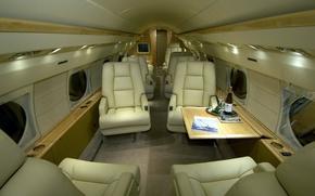 Картинка самолет, шампанское, салон, Бакалы