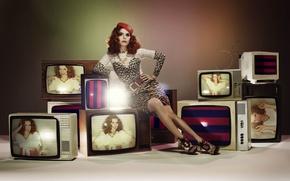 Картинка Redhead, Singer, Television Set, Paloma Faith