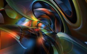 Картинка абстракция, узор, графика, рендер