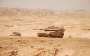 Картинка танк, военная техника, Израиль, Merkava 4