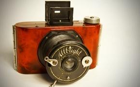 Картинка макро, фон, Allbright Vintage Camera