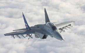 Обои воздух, миг-35, MiG-35