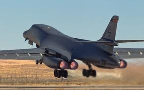 Картинка Lancer, бомбардировщик, B-1B
