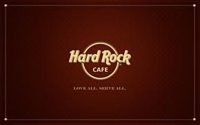 Картинка Слова, Текстуры, Wallpapers, Hard Rock, юбовь Все служи всем, Love ALL SERVE ALL, Надписи, Сafe