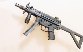 Картинка германия, пистолет-пулемёт, Heckler & Koch, MP5K, Maschinenpistole