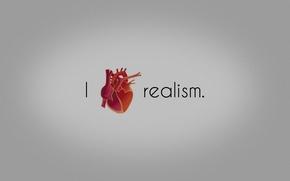 Картинка сердце, love, realism