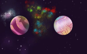 Картинка Космос, Пейзажи, Фантастика