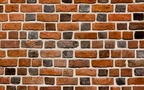 Картинка wall, pattern, brick, cement, varied