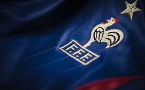 Картинка logo, France, football, t-shirt