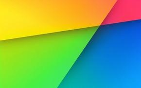 Обои линии, цвет, радуга, угол, геометрия