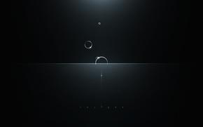Обои круги, блики, свет, Insight