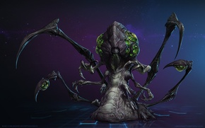 Картинка зерг, Blizzard, StarCraft 2 Heart of the swarm, heroes of the storm
