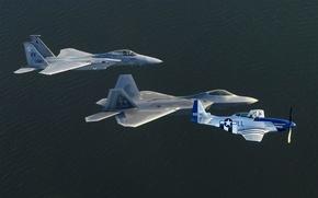 Картинка истребитель, самолёт, F22