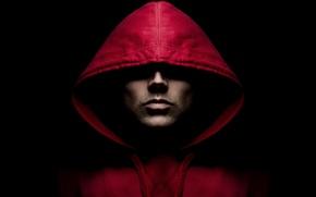 Картинка red, man, jacket, shades
