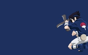 Картинка logo, game, Sasuke, Naruto, minimalism, anime, boy, fight, ninja, evil, asian, Uchiha, manga, Uchiha Sasuke, …
