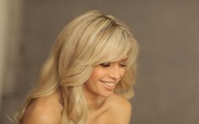 Картинка улыбка, блондинка, певица, знаменитость, вера брежнева