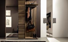 Картинка дизайн, стиль, интерьер, коридор, прихожая