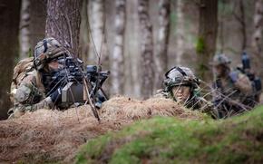 Картинка оружие, солдат, Royal Netherlands Army