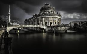 Обои Berlin, Museums Insel, город
