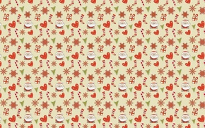 Картинка праздник, Новый год, Дед Мороз, карамелька