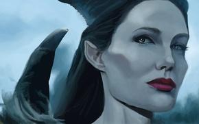 Картинка Анджелина Джоли, Angelina Jolie, Фильм, Maleficent, Малефисента