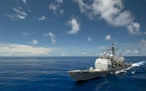Картинка США, Флот, USS, Bunker Hill, CG 52