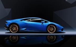 Обои Lamborghini, sports car, Huracan, Lamborghini Huracan