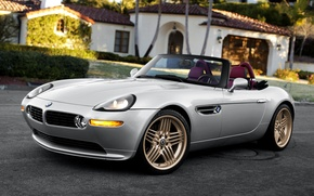 Картинка бмв, Roadster, BMW, кабриолет, Alpina, E52