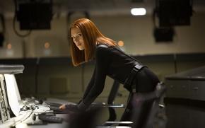 Обои модель, певица, Scarlett Johansson, Captain America: The Winter Soldier, Первый мститель: Другая война, актриса