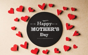 Картинка love, happy, heart, mom, Mother's Day