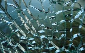 Картинка стекло, трещины, текстуры, прозрачное, разбитое, обои от lolita777