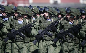 Обои солдаты, Армия, Россия, 9 Мая, Парад Победы 2016