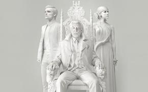 Картинка трон, Голодные игры, Josh Hutcherson, Сойка-пересмешница, Mockingjay, Jena Malone, Donald Sutherland, The Hunger Game, The …