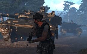 Картинка армия, солдат, греция, multicam, меркава 4, Arma 3