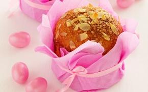 Обои кулич, eggs, яйца, Easter, cake, выпечка, Пасха