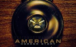 Картинка ретро, Кровать, пластинка, Отель, глазок, ужасы, американская история ужасов, american horror story, Кортез